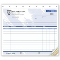 Shipping Invoice,  8 1/2 X 7""