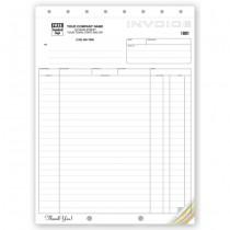 """Shipping Invoice,Classic Design,  8 1/2 X 11"""""""