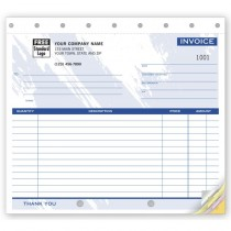 Invoice - Small Lined, 8 1/2 X 7""