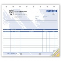 Small Shipping Invoices,  8 1/2 X 7""