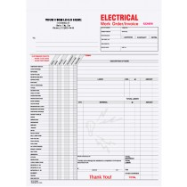 Electrical Work Order/ Invoice