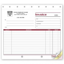 Invoice - Lined Small
