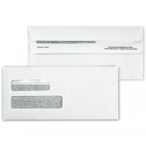 Double Window Confidential Self Seal Envelope