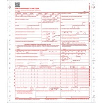 """9-1/2 x11"""" CMS HCFA 1500 1 Part Continuous"""