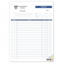 "Job Invoice Form, 8 1/2 X 11"""