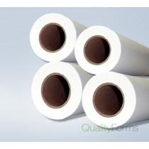 "12'' x 500' Plotter Paper Rolls, (3"" core) 4 rolls/case"
