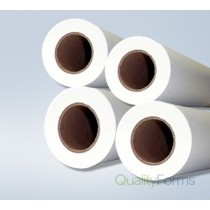 "24'' x 150' 20# Plotter Paper Rolls, (2"" core) 4 rolls/case"