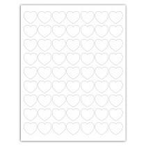 """8-1/2"""" x 11"""" 63 Labels per Sheet 1"""""""
