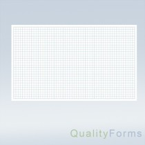 "8-1/2 x 14"" Quadrille Graph Paper"