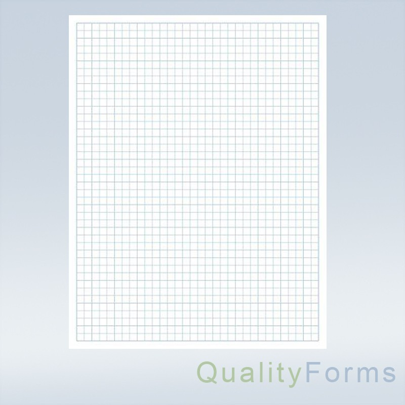 quadrille grid blueprint and graph paper  8 2 x 11 u0026quot