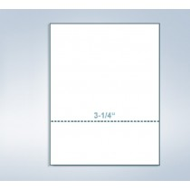"8-1/2 x 11"" 24# Perforated Paper, 1 perf @ 3-1/4"" from bottom"