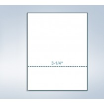 "8-1/2 x 11"" 20# Perforated Paper, 1 perf @ 3-1/4"" from bottom"