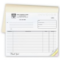 Invoice - Classic Small Lined Booked