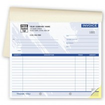 Invoice - Small Lined Booked