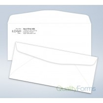 Imprinted Envelope,# 9, 3 7/8 x 8 7/8