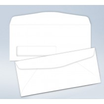 Blank envelope,W/ Window, #9, 3 7/8 x 8 7/8