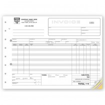 Classic, Wide Body Wholesalers Invoices, 11 X 8 1/2""