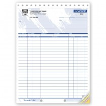 Shipping Invoices - Large,  8 1/2 X 11""