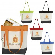 Color Zip Tote