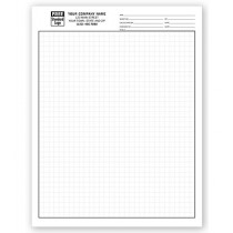 "Graph Papers, Standard 1/4"", Padded"