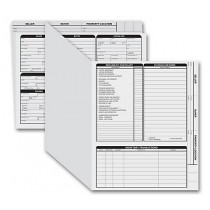 Real Estate Folder Right Panel List Letter Size, Gray