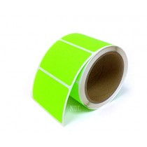 Rectangle Inventory Color Coding Labels - Green - 3 x 2