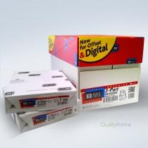 "8-1/2 x 11"" NCR Laser Carbonless 3 Part Paper 5900 Case"