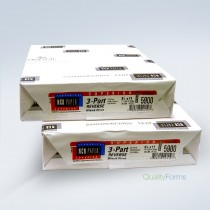 "8-1/2 x 11"" NCR Laser Carbonless 3 Part Paper 5900 Ream"