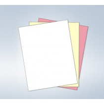 "8-1/2 x 11"" NCR Laser Carbonless 3 Part Paper"