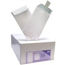 7 Coin Peel & Seal Envelope White
