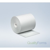 "Thermal Paper Rolls, 2 1/4"" x 80', White, 50 Per Case"