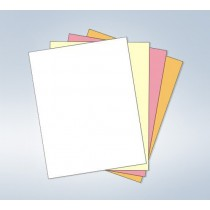 "8-1/2 x 11"" Laser Carbonless 4 Part Paper"