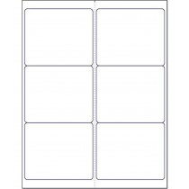 "8-1/2"" x 11"", 6 Labels, per Sheet,4"" x 3.3"""