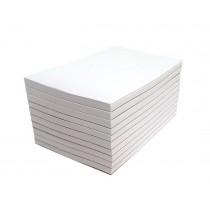 Blank Memo Pads 10 Pads  4 x 6