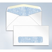 "Blank Envelope,Tinted W/Window, 6 3/4, 6-1/2"" x 3-5/8"