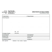 Directorate of Public Works forms