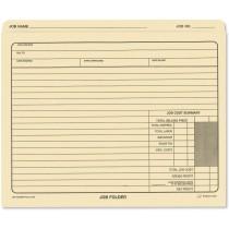 Job Folder File Jackets 10 x 12 Manila, 50-Pack