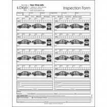 Vehicle Condition Report Form with 8 Cars