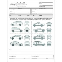 Automobile Transport Form with 4 Cars