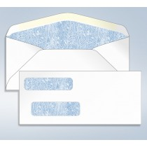 #9 Double Window Tinted  Envelopes