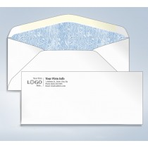 Imprinted Tinted Envelope,#9,3 7/8 x 8 7/8