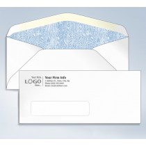 Imprinted Tinted Envelope,#10,4 1/8 x 9 1/2