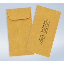7 Coin Imprinted Envelope Brown Kraft