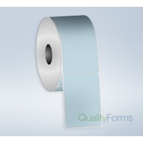 Thermal Transfer  label, 3''x1'', Blue