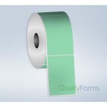 Thermal Transfer  label, 4''x6'', Green