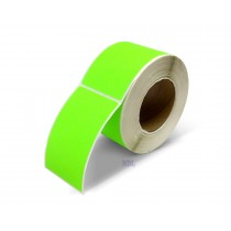 Rectangle Inventory Color Coding Labels - Green - 3 x 5