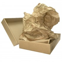 Void Fill Kraft Paper, Ideal for Packing, Case of 250 Ft, 15 x 11, 30# Brown Paper, Fan-Folded, Compact, Eco-Friendly