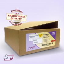 Double Window Envelopes Self Seal with Security Tint Inside Compatible with Quickbook and other Checks