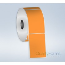 Thermal Transfer  label, 4''x6'', Orange FL
