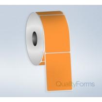 Direct Thermal label, 4'' x 6'' - Orange